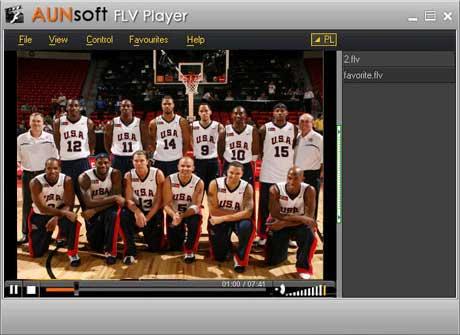 Vorschau Aunsoft FLV Player - Bild 1