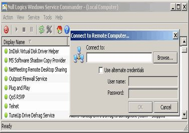 Vorschau Windows Service Commander - Bild 1