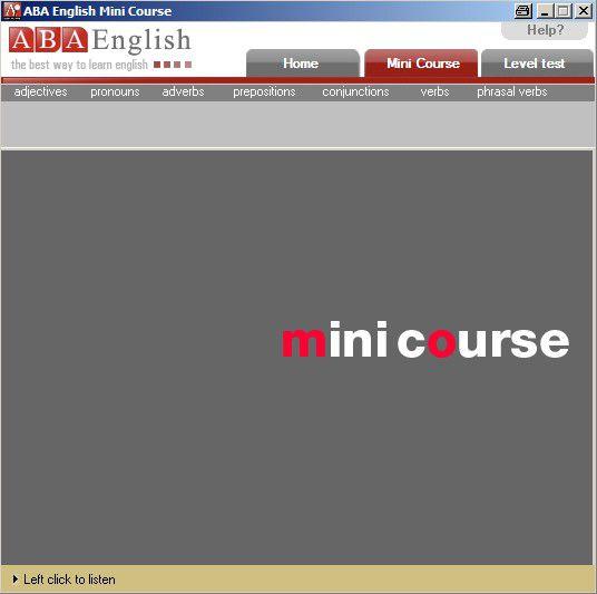 Vorschau Minikurs Englisch von ABAEnglish.com - Bild 1