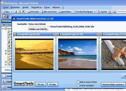 Vorschau Bildervorschau für Outlook - Bild 1