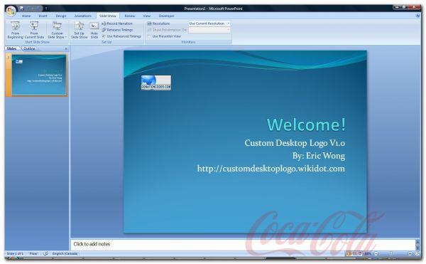 Vorschau Custom Desktop Logo - Bild 1