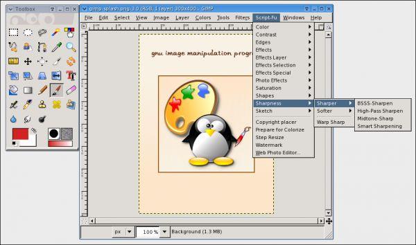 Vorschau GIMP SCRIPT-FUs for Gimp - Bild 1