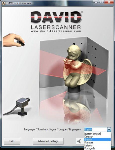 Vorschau DAVID-Laserscanner - Bild 1