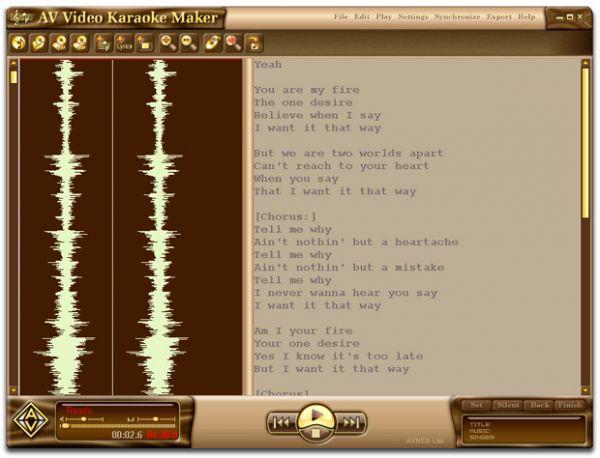 Vorschau AV Video Karaoke Maker - Bild 1