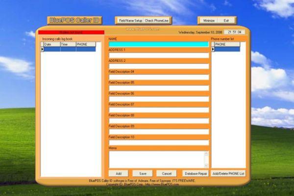Vorschau BluePOS Caller ID - Bild 1