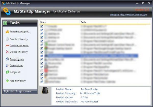 Vorschau Mz StartUp Manager - Bild 1