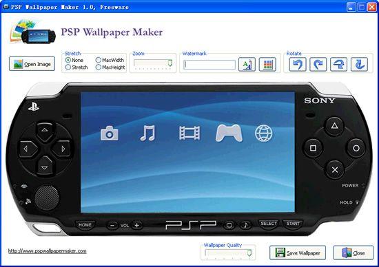 Vorschau PSP Wallpaper Maker - Bild 1