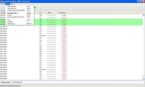 Vorschau Greenfish DataMiner - Bild 1