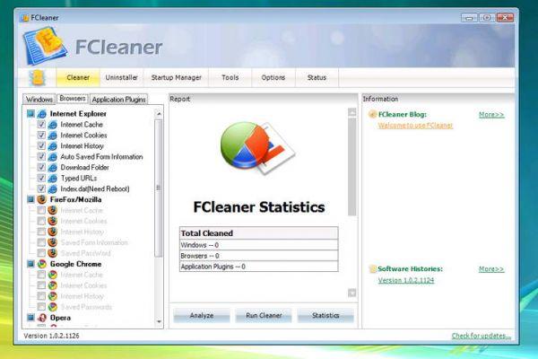 Vorschau FCleaner und Portable - Bild 1