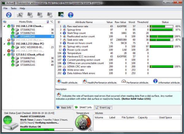Vorschau Active@ Hard Disk Monitor - Bild 1