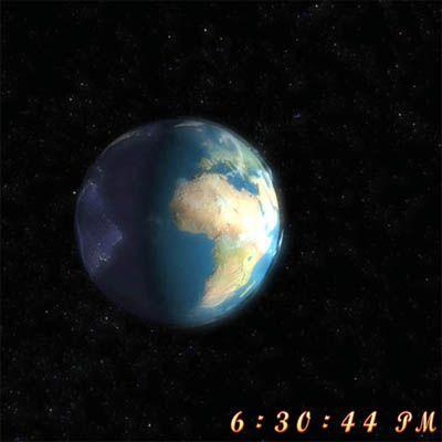 Vorschau Free 3D Earth Screensaver - Bild 1