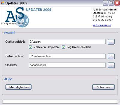 Vorschau Updater2009 - Bild 1