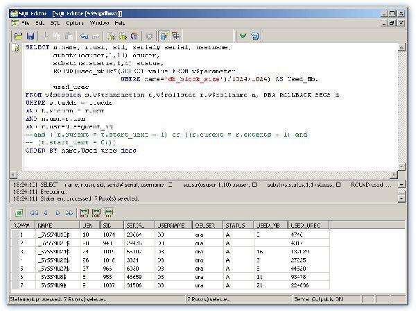 Vorschau SQL Editor for Oracle - Bild 1