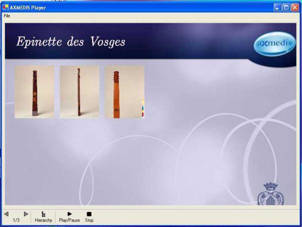 Vorschau AXMEDIS ActiveX Cross Media Player - Bild 1