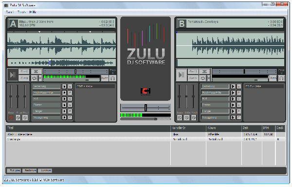 Vorschau Zulu Kostenlose DJ-Software - Bild 1