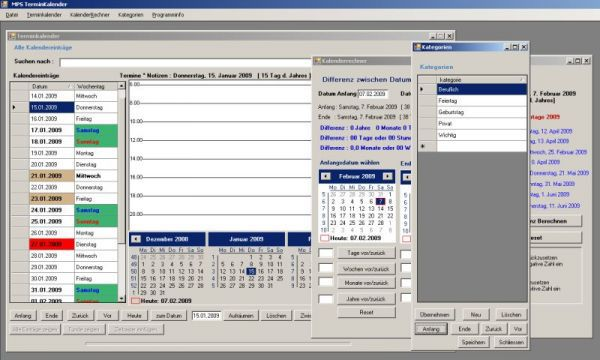 Vorschau MPS Terminkalender - Bild 1