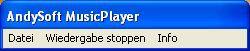 Vorschau AndySoft MusicPlayer - Bild 1