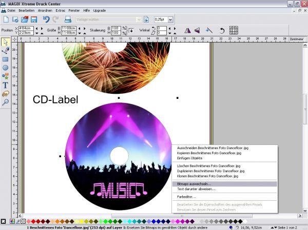 Vorschau MAGIX Xtreme Druck Center - Bild 1