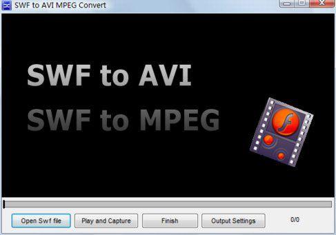 Vorschau Free SWF to AVI MPEG Convert - Bild 1