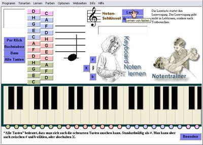 Vorschau Keyboard Notentrainer - Bild 1
