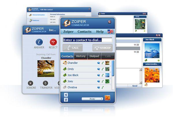 Vorschau Zoiper Communicator Softphone - Bild 1