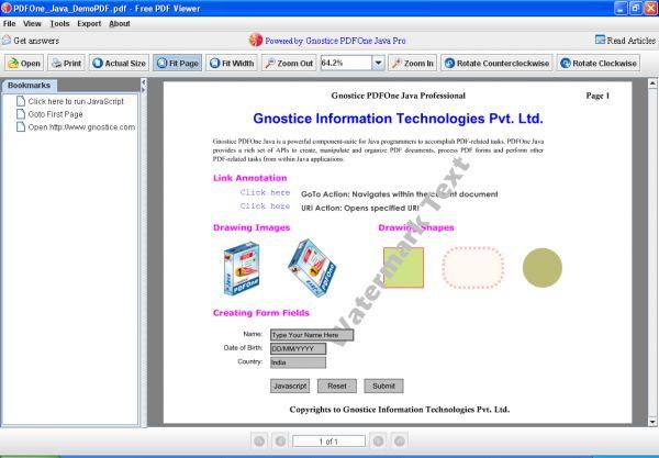 Vorschau Free PDF Reader - Bild 1
