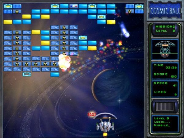 Vorschau FreeGames CosmicBall - Bild 1