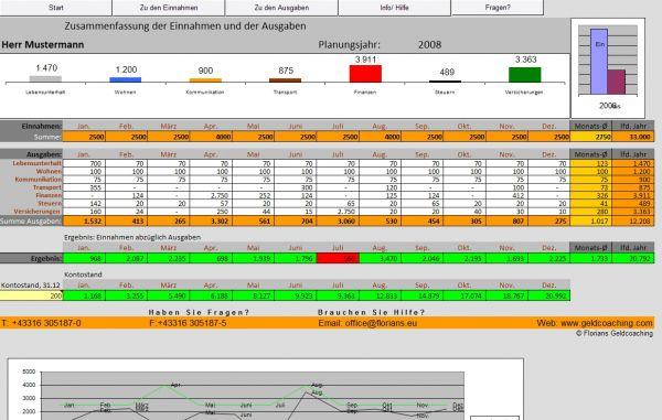 Vorschau Haushaltsrechnung - Bild 1