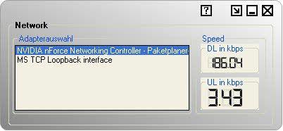 Vorschau NetworkSpeed - Bild 1