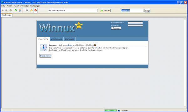 Vorschau Winnux Online - Bild 1