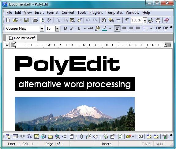 Vorschau PolyEdit Lite - Bild 1