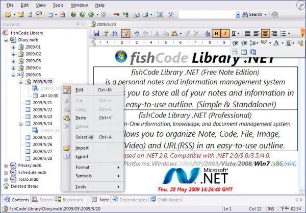Vorschau fishCode Library -Free Note Edition- - Bild 1