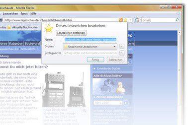 Vorschau Mozilla Firefox - Bild 1