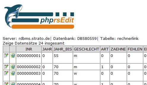 Vorschau phprsEdit - Bild 1