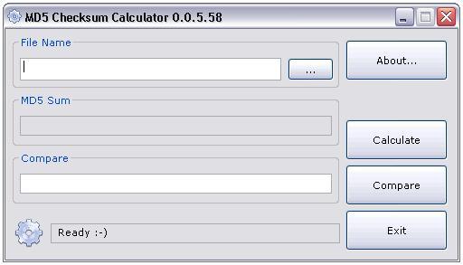 Vorschau MD5 Checksum Calculator - Bild 1