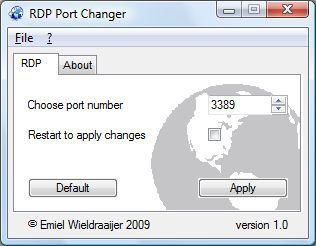 Vorschau RDPPortChanger - Bild 1