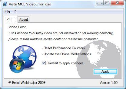 Vorschau MCE VideoErrorFixer - Bild 1