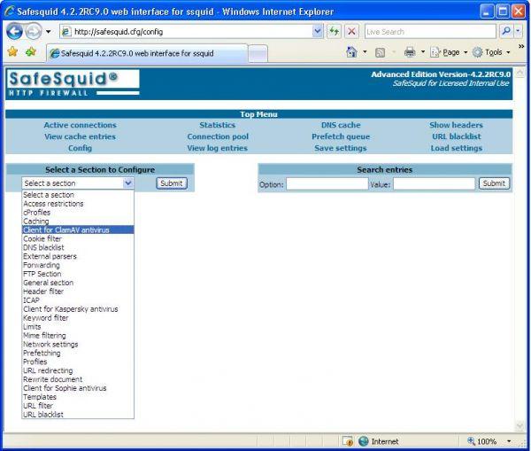 Vorschau SafeSquid Personal - Bild 1