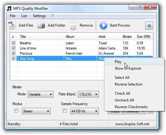 Vorschau MP3 Quality Modifier - Bild 1