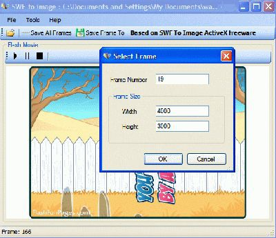 Vorschau SWF To Image GUI - Bild 1