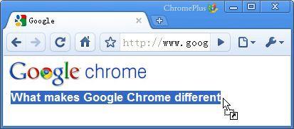 Vorschau CoolNovo and Portable - vorher ChromePlus - Bild 1