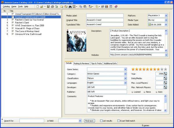 Vorschau Sisimizi Game Catalog - Bild 1