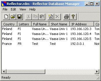 Vorschau Reflector Database Manager - Bild 1