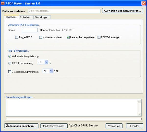 Vorschau 7-PDF Maker - Bild 1