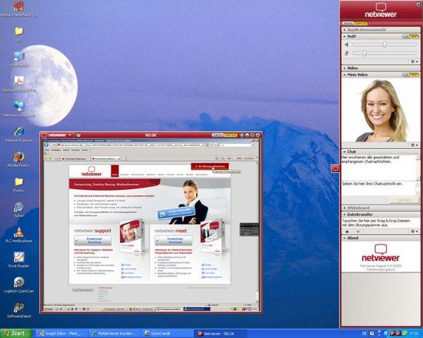 Vorschau Netviewer Support Free Version - Bild 1
