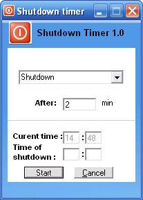 Vorschau Free Shutdown Timer - Bild 1