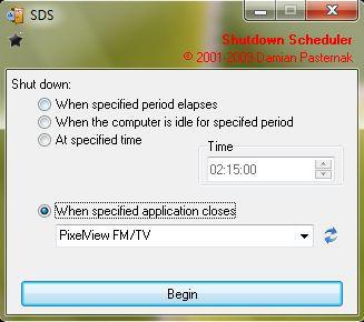 Vorschau Shutdown Scheduler SDS - Bild 1