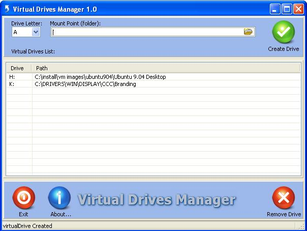 Vorschau Virtual Drives Manager - Bild 1