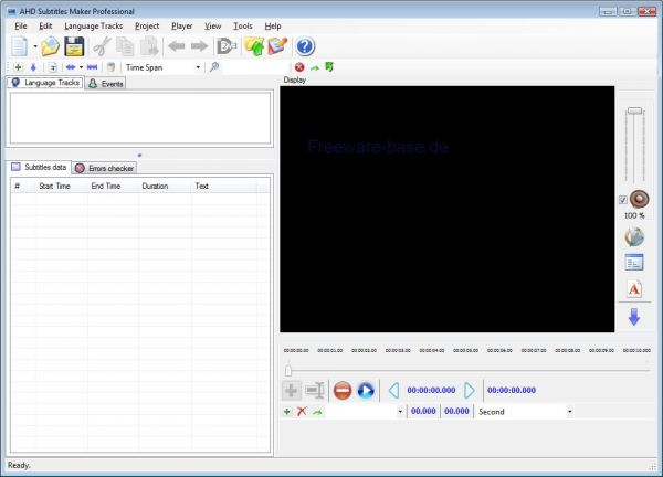 Vorschau AHD Subtitles Maker Pro - Bild 1