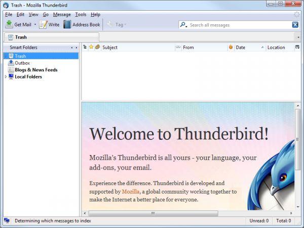 Vorschau Mozilla Thunderbird Portable - Bild 1